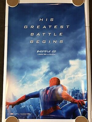"""THE AMAZING SPIDER-MAN 2 Original Movie Poster 27""""X40"""" DS/Rolled - 2014 -MARVEL"""
