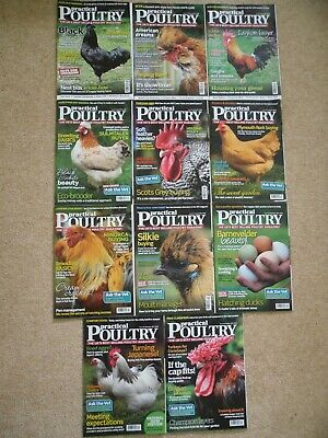 Practical Poultry magazines, 2012