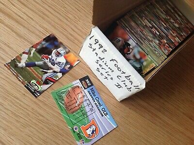 Complete Set 1992 Stadium Club Series 2 NFL American Football TRADING CARDS