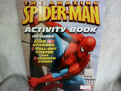 Marvel, The Amazing Spider-Man Activity Book, +Stickers &  Pull-Out Poster, 2006
