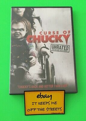 ❤️Curse of Chucky DVD 2013 UNRATED + RATED EDITION - Brand New Sealed❤️