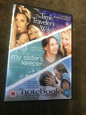 The Time Travelers Wife My Sisters Keeper The Notebook Dvd Box Set Region 2