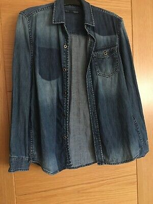Boys Next Denim Shirt Age 10