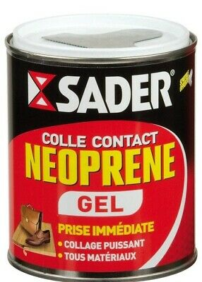 01 Lot de 2 pots de colle néoprene Gel Sader - 500 ml
