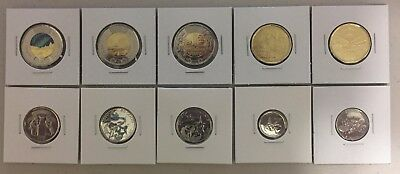 CANADA 2017 New Complete coins set 100% FULL KIT Circulation coin (BU from roll)