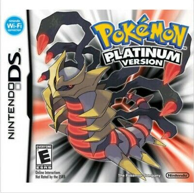 Pokemon Platinum Version (Nintendo DS, 2009) GAME CARD ONLY, TESTED and WORKING