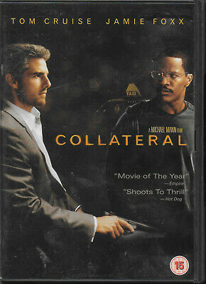 Collateral DVD Jamie Foxx Tom Cruise Jada Pinkett-Smith Mark Ruffalo