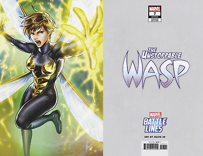 Unstoppable Wasp #7 Sujin Jo Battle Lines Variant Cover