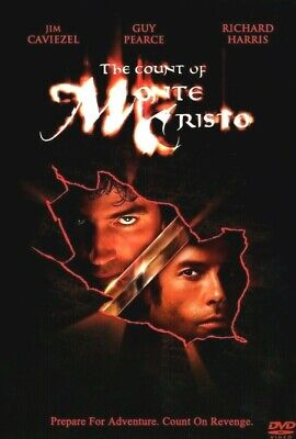 The Count of Monte Cristo (DVD, 2002) Jim Caviezel, Guy Pearce