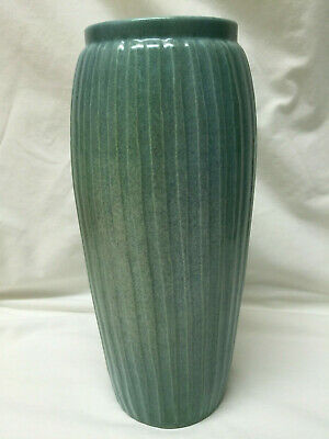 Vintage Stanley Kellogg Arts and Crafts Style Art Pottery Vase