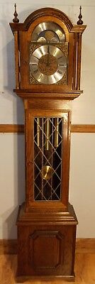 Grandfather Clock(3) Exc Con/New Hermle Wchime/NATIONWIDE PERSONAL DELIVERIES