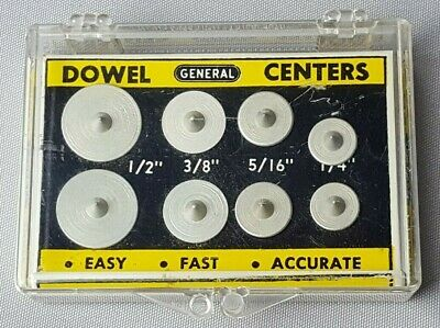 Vintage Dowel Centers # 888 General Tools MADE IN USA
