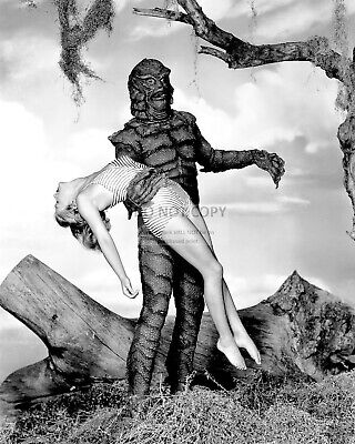 """Lori Nelson """"Revenge Of The Creature"""" (From The Black Lagoon) 8X10 Photo (Dd677)"""