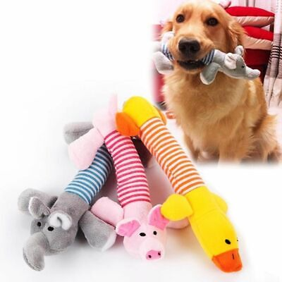 Pig Elephant Duck For Dog Toys Pet Puppy Chew Squeaker Squeaky Plush Sound