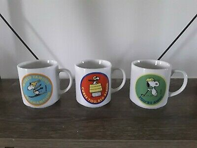 Snoopy coffee cups