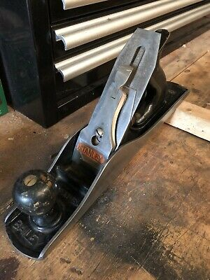 Plane, Vintage Nice Clean Stanley Bailey No. 5 Wood Plane, Type 18 (1946 - 1947)