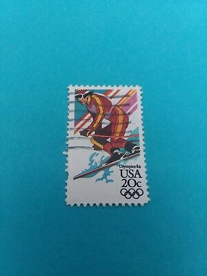 Olympic Games postage Stamp 1984 Used 2068
