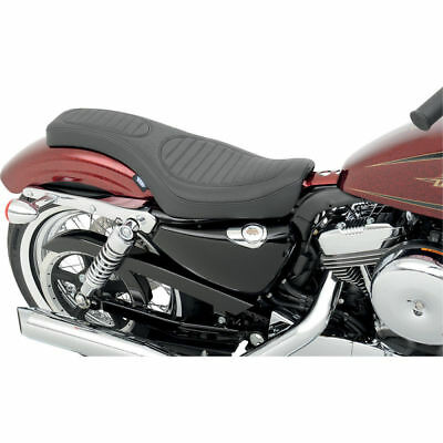 Drag Specialties Classico Punto Spoon-Style Seat 2010-14 Harley Sportster XL
