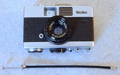 Vintage Made in Germany Rollei B35 35mm Film Camera AS-IS