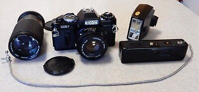 Vintage RICOH XR7 35mm Film Camera Outfit