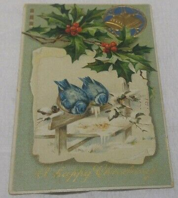 Pre-Ww1 (Happy Christmas) Americana Post Card