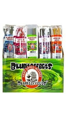 Blunt Effects Hand Dipped Incense Perfume Wands, 72 ct Display NEW Blunteffects