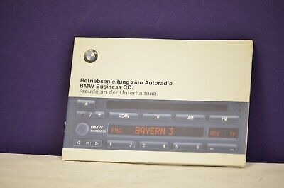 BMW Business CD II Bedienungsanleitung  Radio Autoradio