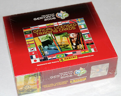 Panini TRADING CARDS FIFA World Cup WM GERMANY 2006 - DISPLAY BOX 24 PACKETS