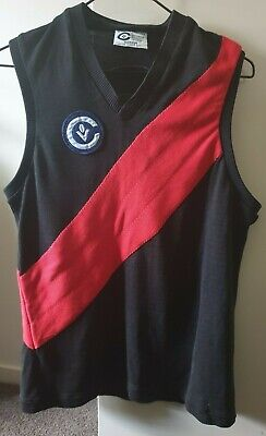 Essendon Bombers Colours Sekem Vic Country VFL AFL Football Jumper Guernsey