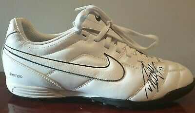 Collingwood Magpies AFL Player Dayne Beams #17 Signed Nike Football Boot