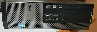 DELL OPTIPLEX 9020 SFF DESKTOP PC QUAD CORE i5-4590 8GB RAM 256 SSD HD WIN 10