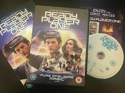 Ready Player One [DVD, 2018] (Steven Spielberg) LIKE NEW