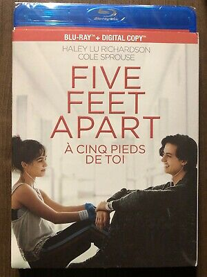 Five Feet Apart Blu-Ray w Slipcover Canada Bilingual NO DC LOOK