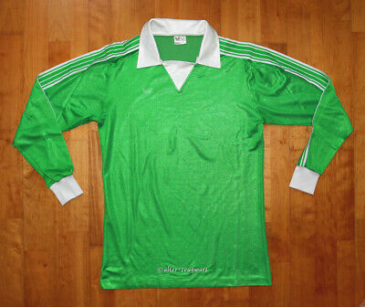 Vintage ERIMA 70s 80s Trikot Fussball Shirt Jersey Maglia West Germany 7/8 L
