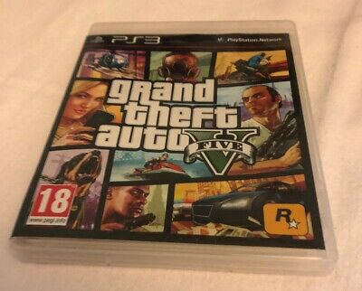 GRAND THEFT AUTO V PS3 GAME! WITH MANUAL, FREE UK P&P! Gta 5