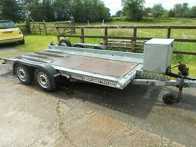 BRIAN JAMES 'clubman' car transporter-race/rally/autograss/recovery