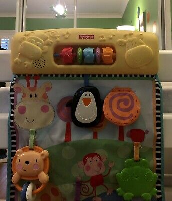 Fisher Price Musical Toy Cot