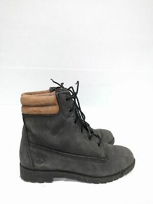 Size 5 or 6 Vintage Ladies TIMBERLAND Hiking Walking Black leather ankle boots