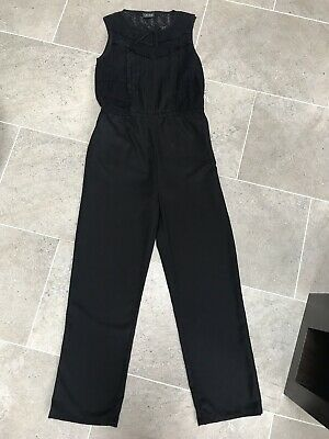 Girls Black Trouser Suit. Bnwot. Age 11 Years From Next