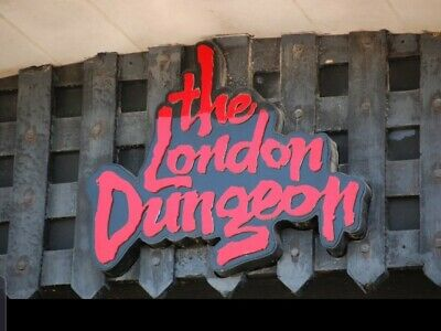 London dungeon e -tickets 27th July 2019 At 17.00