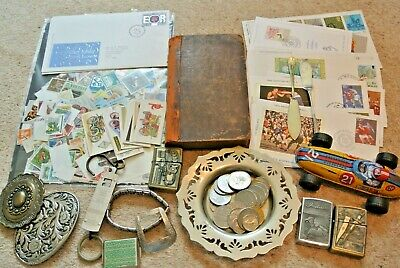 Antique and Vintage mixed job lot  curios and collectables