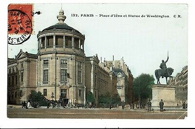 CPA-Carte postale- FRANCE -FRANCE -Paris - Place Iéna-1907 VM3598