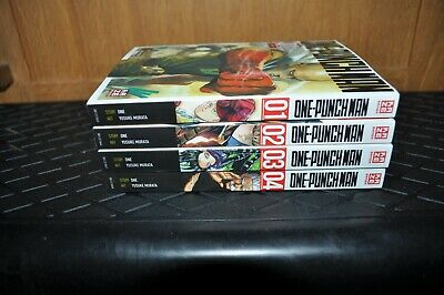One-Punch Man 1-4