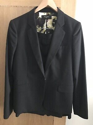 Paul Smith Black Ladies Skirt and Jacket Suit Size 48, Unworn New Condition