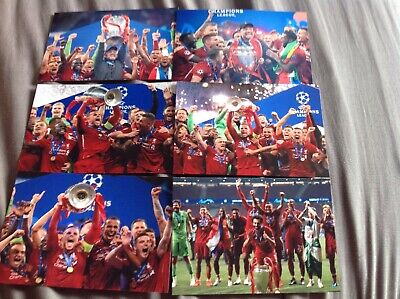 6 Liverpool Champions League  2019  6x4 Celebration Photos See Pic Bargain