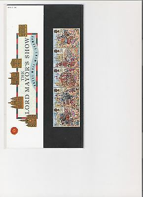 1989 Royal Mail Presentation Pack The Lord Mayors Show Mint Gb Stamps
