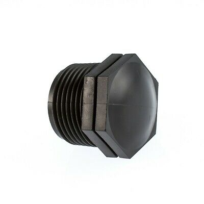 """End Plug   -  Polypropylene Pipe Fittings (PP)    -   1/2"""" To 3"""""""