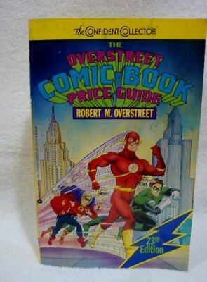 Overstreet Comic Book Price Guide No. 23