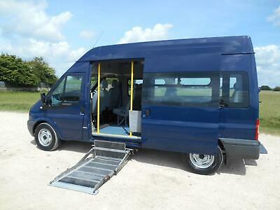 2009  Ford Transit  T350L Mwb  8 Seat  Wheelchair Accessible Disabled Minibus