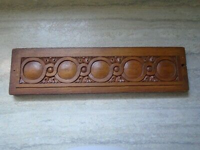 Antique Carved Wood Architectural Furniture Salvage Piece Ornate Panel